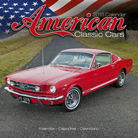 American Classic Cars Calendar 2015