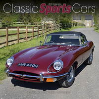 Classic Sports Cars 2015 Wall Calendar