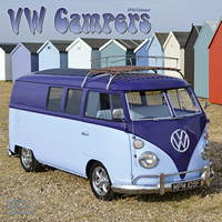 VW Campers 2015 Wall Calendar