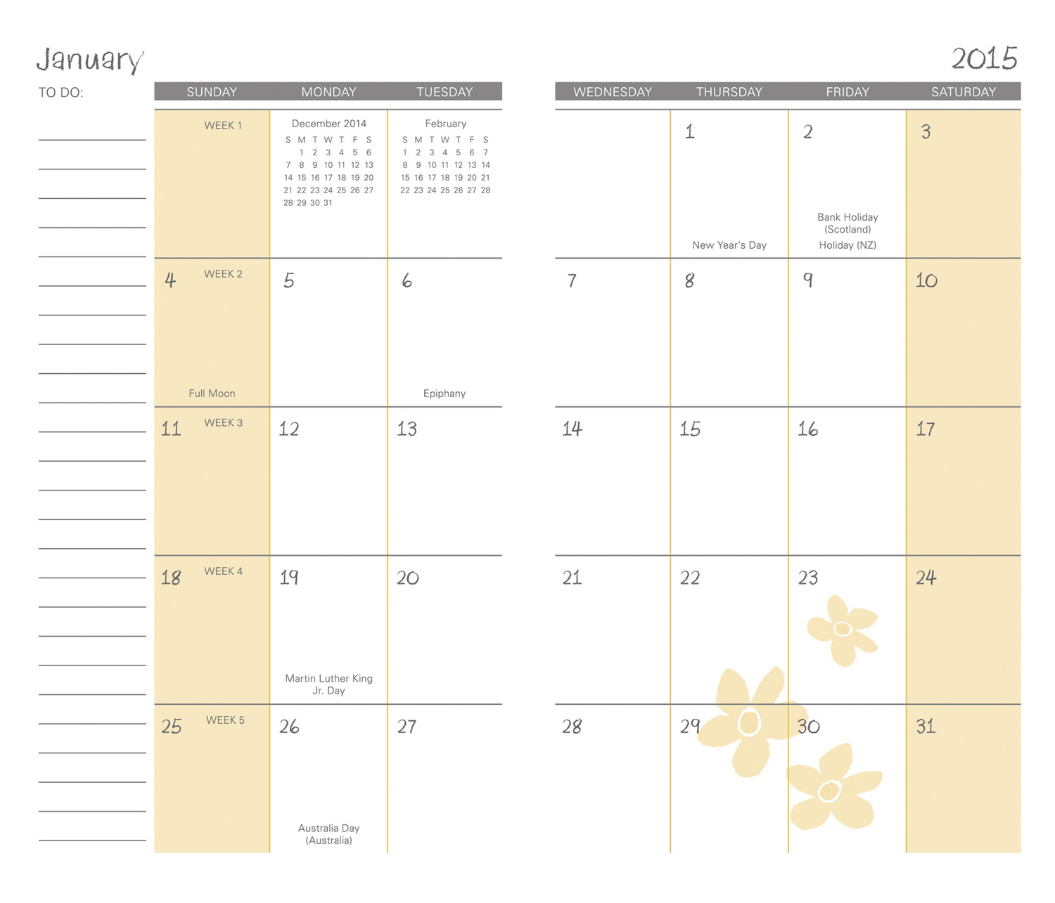 2015 2016 Pocket Calendar | New Calendar Template Site