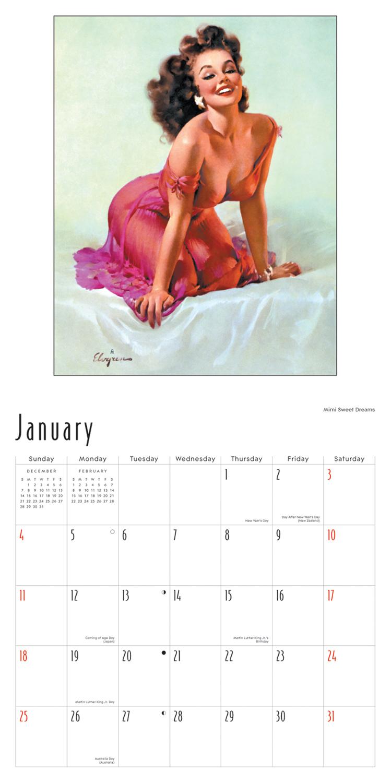 749 x 1500 jpeg 459kB, ... Up Girls By Gil Elvgren Wall Calendar 2015 ...