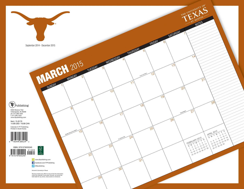 Desk Pad Calendars Template Calendar Austin Texas Desk