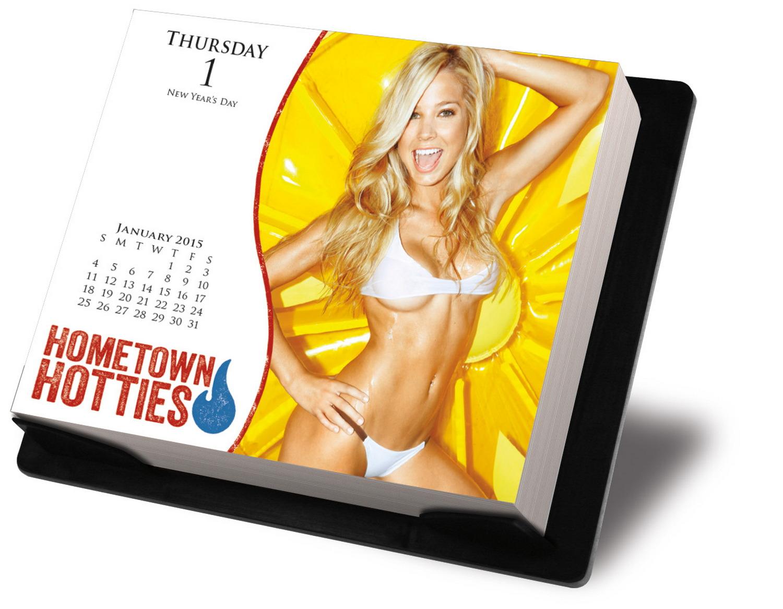 Maxim Hometown Hotties Page-A-Day Calendar 2015