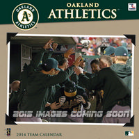Oakland Athletics 2015 Wall Calendar  9781469318561